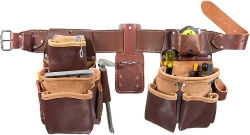 Occidental Leather 5080DB-LG Large Leather Belt Package - No tools included