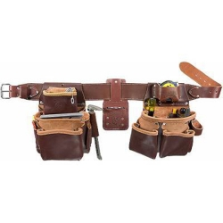 Occidental Leather 5080DB-XL Extra Large Leather Belt Package - No tools included
