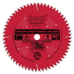 Freud LU79R007 7-1/4-Inch x 60 Tooth Plywood Blade