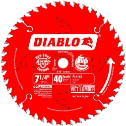 "Bosch DCB724 7-1//4/"" 24 Tooth DareDevil Framing Blade New"