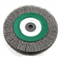Hitachi 729302 6-Inch Crimped Bench Wheel Brush