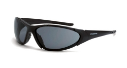 Crossfire 1821 Core Black Frame Safety Sunglasses with Smoke Lenses