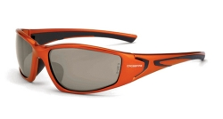 Crossfire 23125 RPG Burnt Orange Frame Safety Sunglasses with HD Copper Flash Mirror Lenses